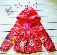 Куртка-ветровка на девочку  (рост 98-104 см)
