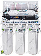 Система обратного осмоса Bio+systems RO-50-SL03M с насосом и минерализатором