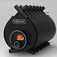 Печь Булерьян Vesuvi (Везувий) classic со стеклом и перфорацией Тип 04, 35 кВт