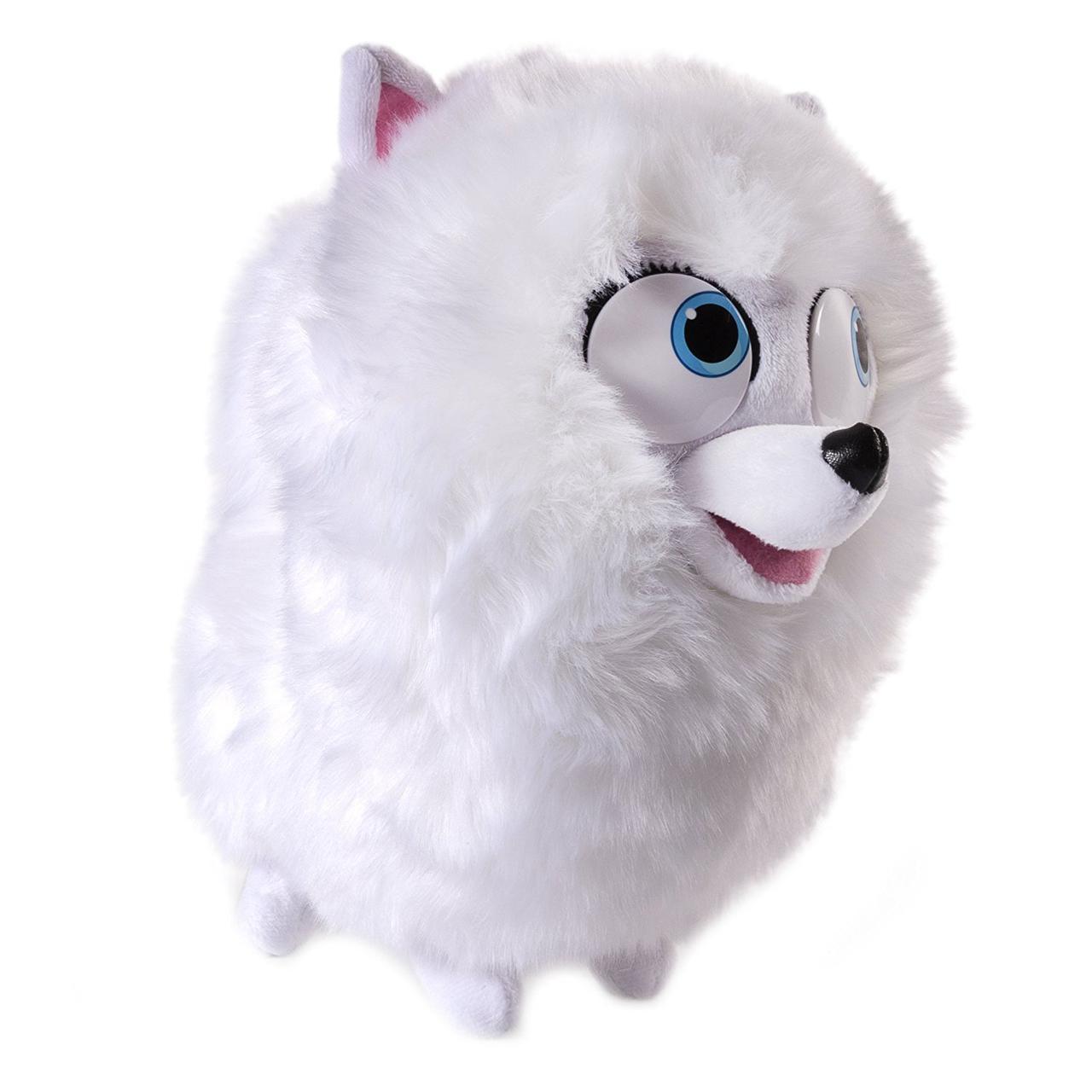 ШПИЦ ГИДЖЕТ собачка говорящая мягкая игрушка 25 см Тайная жизнь домашних животных / The Secret Life of Pets