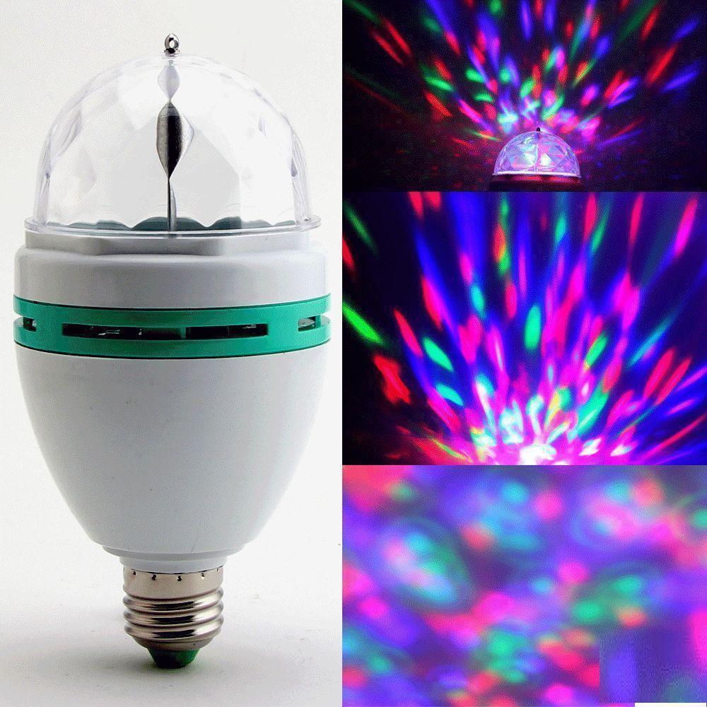Лампа вращающаяся с картинками