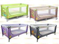 Манеж кроватка детский CARRELLO Piccolo CRL-7303