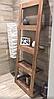 Этажерка деревянная «Perfect», стеллаж деревянный в стиле ЛОФТ, фото 2