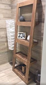 Этажерка деревянная «Perfect», стеллаж деревянный в стиле ЛОФТ