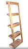 Этажерка деревянная «Perfect», стеллаж деревянный в стиле ЛОФТ, фото 3