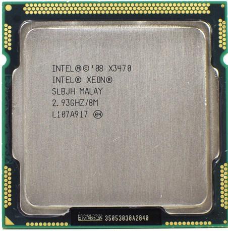 Процессор Intel® Xeon® X3470  LGA1156  2.93-3.60 GHz + термопаста GD900