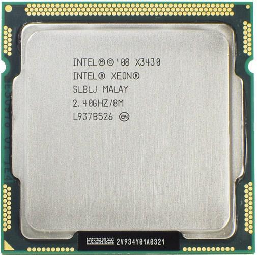 Процессор Intel® Xeon® X3430 LGA1156  2.4-2.8GHz  + термопаста GD900