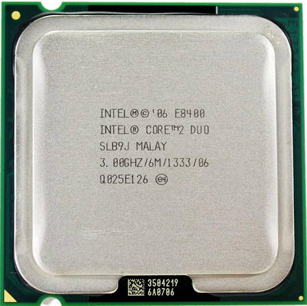 Процессор Intel® Core™2 Duo E8400 LGA775  3.0GHz  + термопаста GD900, фото 2