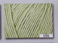 Пряжа Cotton True Sport хлопок бледно-зеленый, фото 1