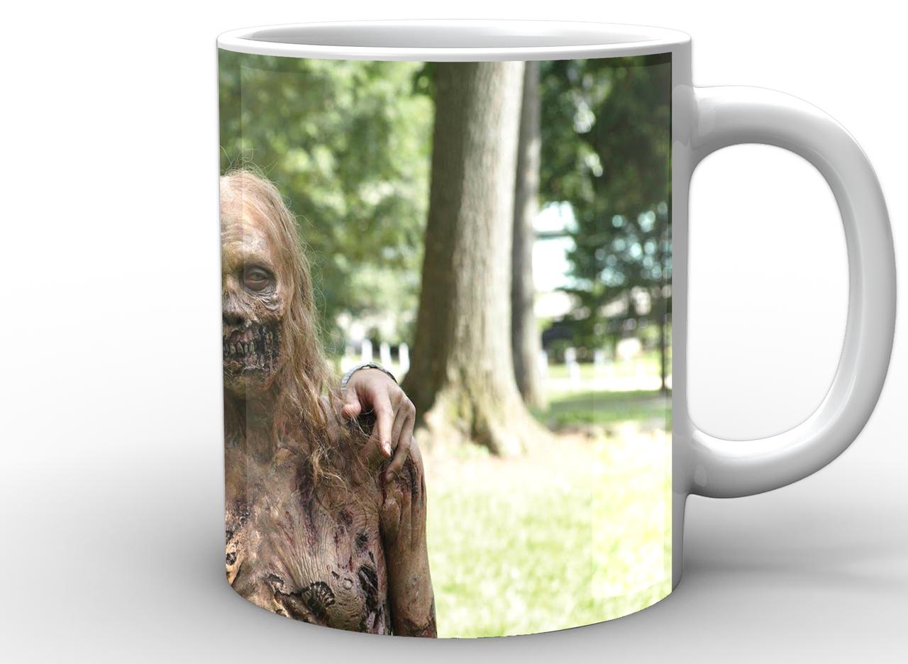 Кружка GeekLand Ходячие Мертвецы The Walking Dead Рик и зомби WD.02.007
