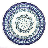 Тарелка подставная Польша Керамика Артистична Виноградная лоза 27 см