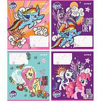 Тетрадь школьная Kite My Little Pony, 12 листов, в косую линию, LP18-235