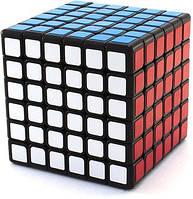 Головоломка Кубик Рубика 6х6 YJ GuanShi черный пластик