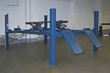 Подъемник четырехстоечный NUSSBAUM 4.40 H, фото 2