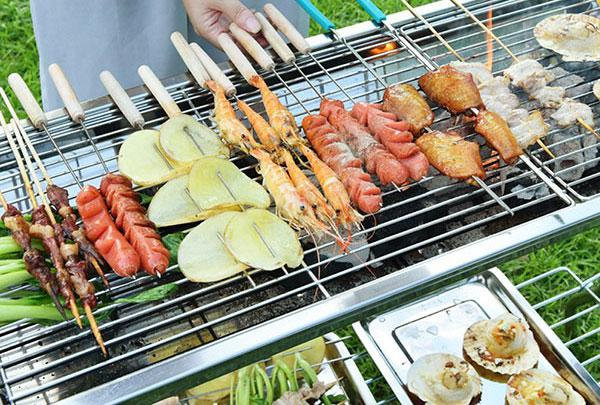 Мангал-барбекю BBQ Combined barbecue