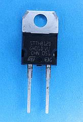 Диод STTH812D  (8A; 1200V; 100ns) TO-220AC (2ноги)