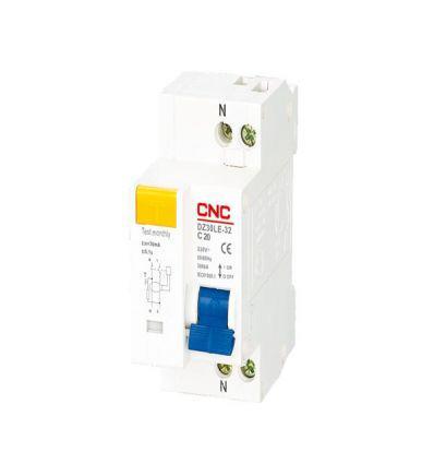 Диференційний автоматичний вимикач CNC DZ30LE-40, 6A-32A, 30mA