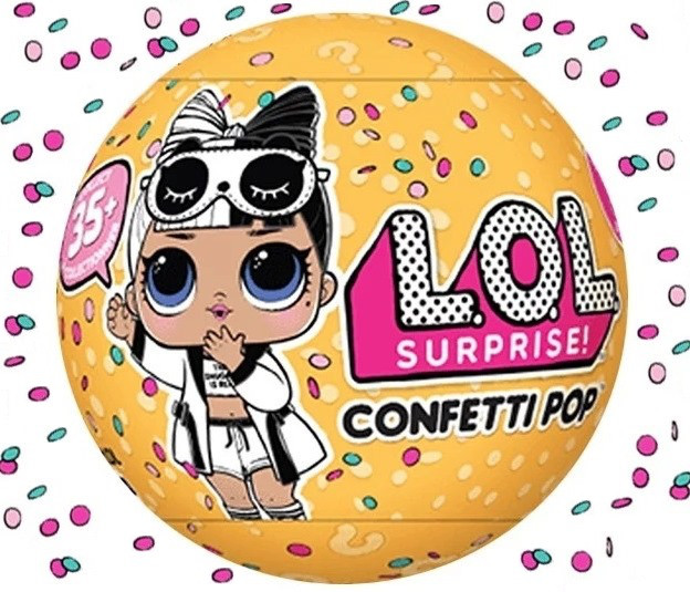 Лол Конфетти Поп 3 сезон 2 волна Оригинал (LOL Confetti ...