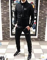 Спортивный костюм мужской, весенний, осенний  / черный