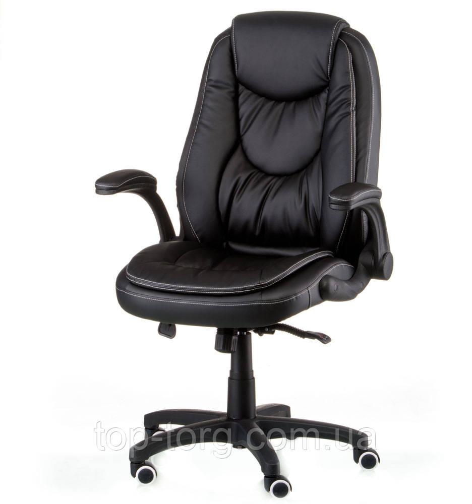 Кресло офисное, компьютерное OSKAR black, черное