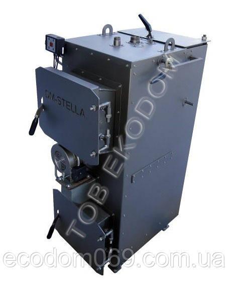Пиролизный котел 10 кВт DM-STELLA для 100 кв.м