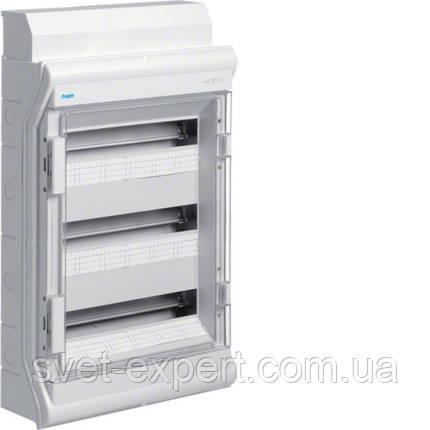 Щит Hager розподільчий на 54(60) модулів, з/у з прозорими дверцятами, IP65, VECTOR, фото 2