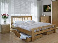 Кровать MeblikOff Луизиана с ящиками (180*200) дуб
