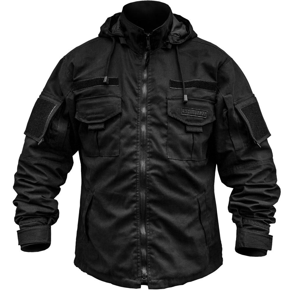 Тактическая куртка (АНТИТЕРРОР) ЧЕРНАЯ