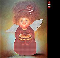 """Схема для вышивки бисером Ангелочек """"Пирожуля"""""""