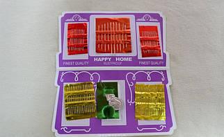 Набор игл для шитья (62иглы) арт.13043, цена за упаковку из 12наборов.