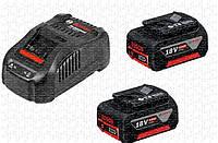 Набор Bosch 2 аккумулятора GBA 18V 5 Ah + ЗУ GAL 1880 CV