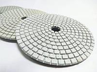 """Гибкие полировальные круги, алмазные липучки, """"Черепашки"""" для полировки гранита и мрамора d100mm"""