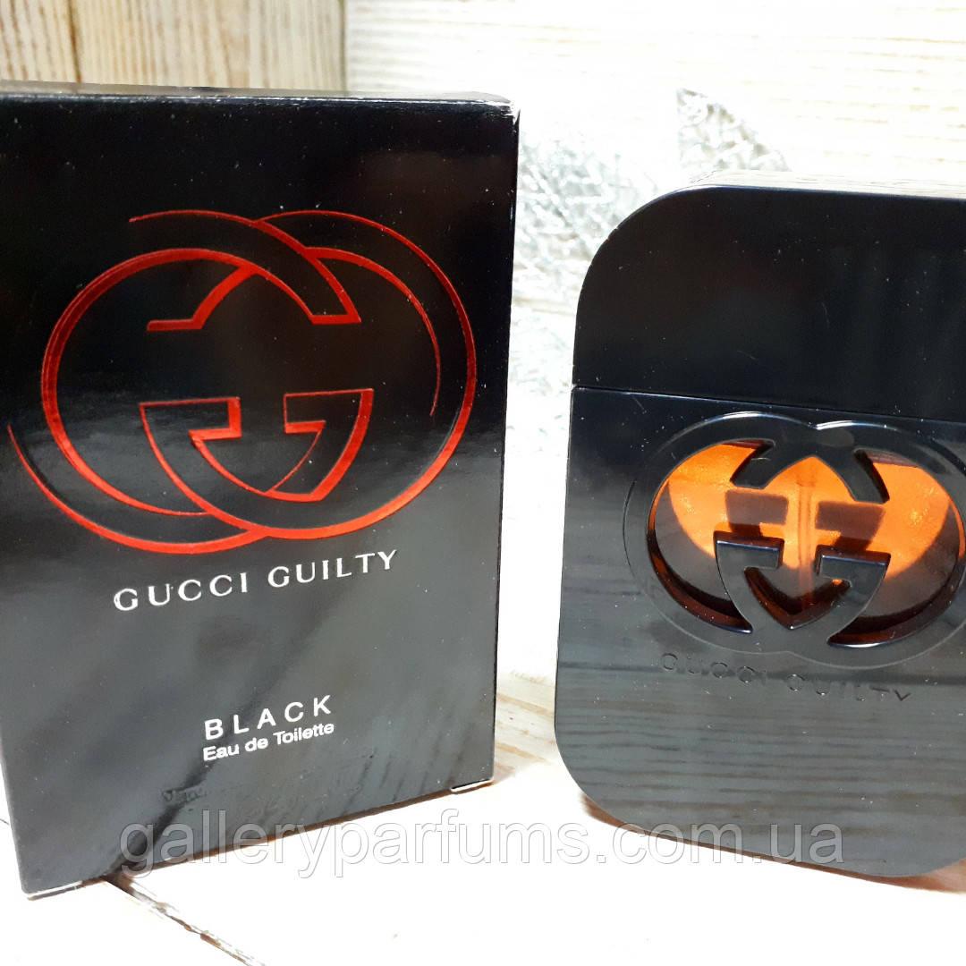 купить Gucci Guilty Black Pour Femme Eau De Toilette 75ml в