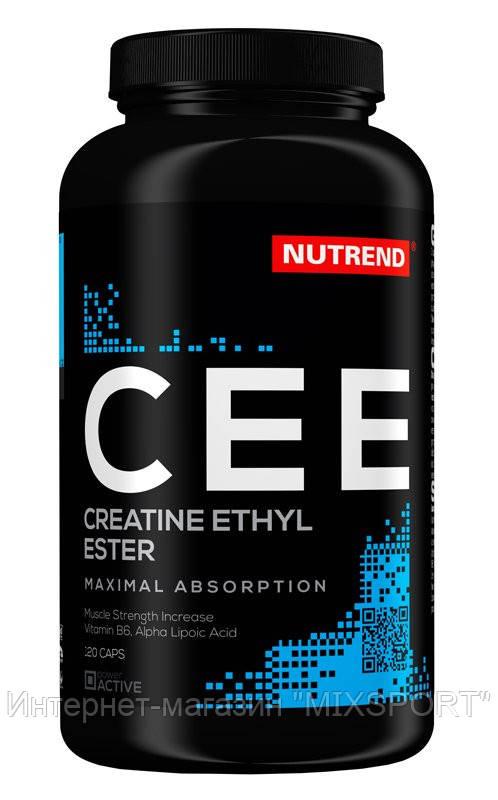 Nutrend - Creatine Ethyl Ester caps 120 caps