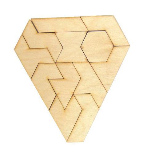Геометрическая головоломка Гексатрион