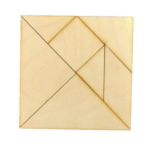 Геометрическая головоломка Танграм