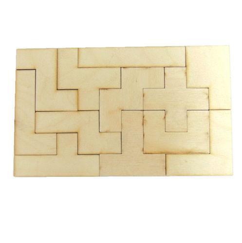 Геометрическая головоломка Пентамино