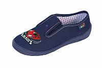Тапочки сині  для хлопчика мальчика Nazo Польща 25-36