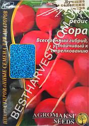 Семена редиса «Сора» 15 г, инкрустированные