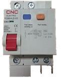 Диференційний автоматичний вимикач YCB6HLE, 10A-63A, 3P+N, 30mA