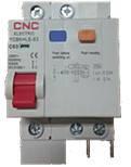 Диференційний автоматичний вимикач CNC YCB6HLE, 10A-63A, 1P+N, 30mA