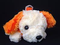 Сумка - Собачка детская меховая короткая и длинная ручка, фото 1