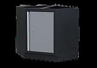 Шкаф инструментальный угловой серая. Габариты: 865 x 865 x 910мм