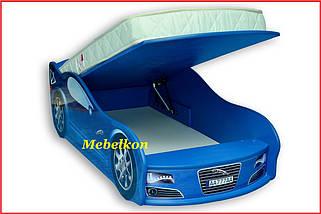 """Кроватка Машина """"Ягуар"""" (Mebelkon), фото 2"""