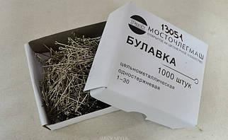 Булавка металлическая цвет никель (арт. 13051), цена за упаковку (1000шт.)
