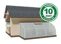 Сотовый поликарбонат  прозрачный 4мм Sunnex