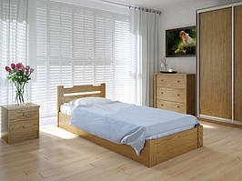 Кровать MeblikOff Сакура с механизмом (90*190) дуб