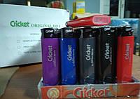 Зажигалка Cricket цветной 50шт/уп ED1