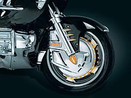 Подсветка переднего колеса Ring of Fire - Amber, Kuryakyn 7390