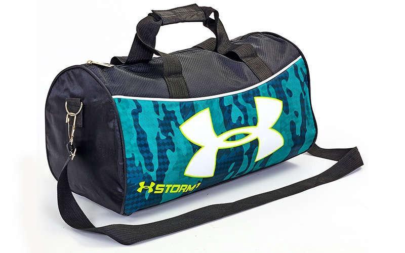 Спортивна сумка в стилі Under Armor GA-6278  23 л. бірюзова